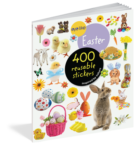 Eyelike: Easter Reusable Stickers