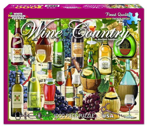 Wine Country 1000pc Puzzle