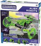 Engineering Makerspace Alien Robots
