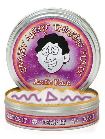 "4"" Arctic Flare Crazy Aaron's Thinking Putty"