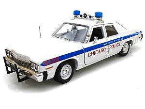 1/18 1974 Dodge Monaco Chicago Department Police Car