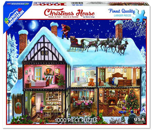 Christmas House 1000PC Puzzle