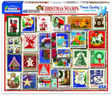 Christmas Stamps 1000pc Puzzle