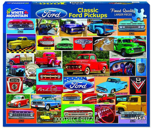 Classic Ford Pickups 1000pc Puzzle