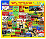 Down on the Farm 1000pc Puzzle