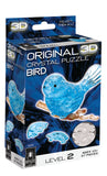 Blue Bird 3D Crystal Puzzle
