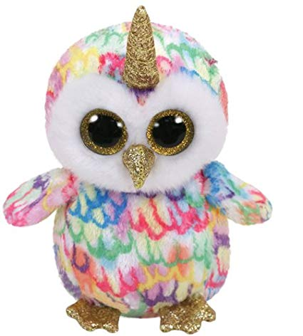 Enchanted - Rainbow Owl/Unicorn - Small