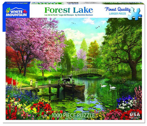 Forest Lake 1000pc Puzzle