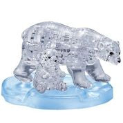 Polar Bear 3D Crystal Puzzle