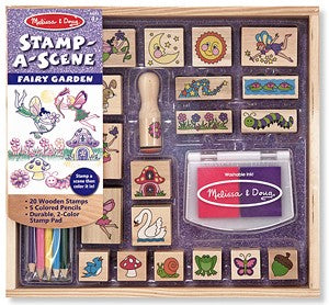 Fairy Garden Stamp-A-Scene Set