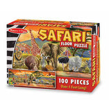 Safari Floor 100pc Puzzle
