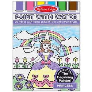Princess Paint With Water