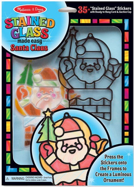 Santa Claus Stained Glass Made Easy Kit #8584