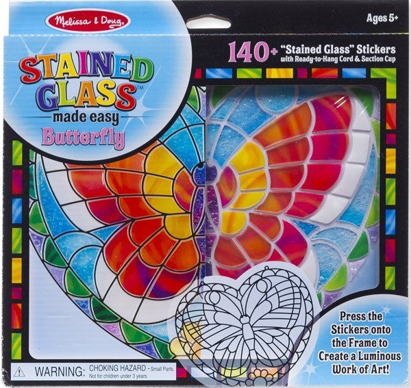 Butterfly-Stained Glass Made Easy Kit