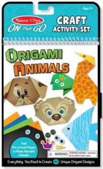 Origami Animals On-The-Go Crafts