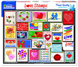 Love Stamps 1000pc Puzzle