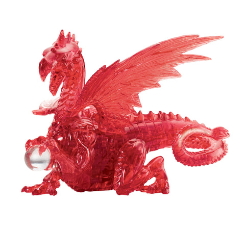 Red Dragon 3D Crystal Puzzle
