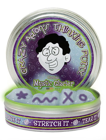 "4"" Mystic Glacier Crazy Aaron's Thinking Putty"