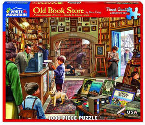 Old Book Store 1000pc Puzzle