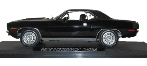 1/18 1970 Plymouth Demonstrator Buddy Martin Barracuda Black
