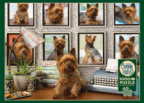 Yorkies Are My Type 1000pc Puzzle