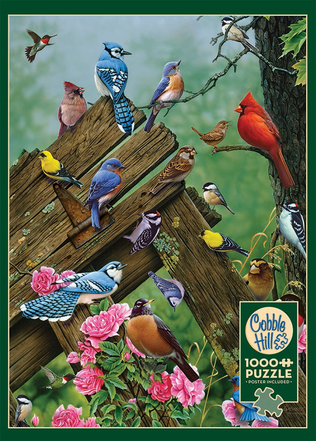 Birds of the Forest 1000pc Puzzle