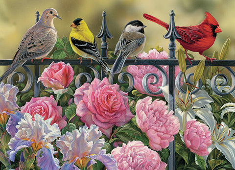 Birds on a Fence 1000pc Puzzle