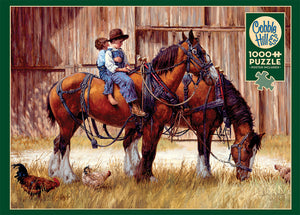 Back to the Barn 1000pc Puzzle