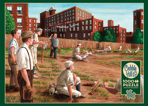 Old Time Baseball 1000pc Puzzle