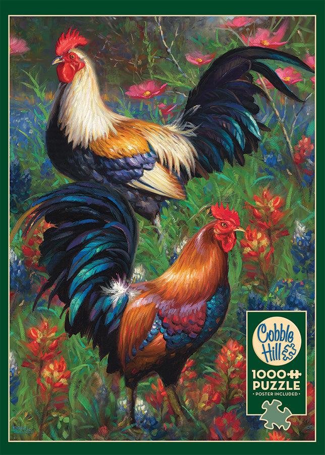 Rooster 1000pc Puzzle