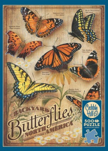 Backyard Butterflies 500pc Puzzle