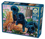 Trouble in the Garden 500pc Puzzle