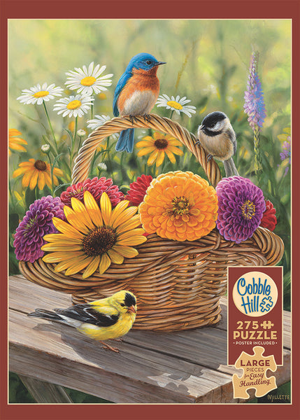Summer Bouquet 275pc Easy Handling Puzzle