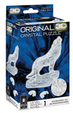 Clear Wolf 3D Crystal Puzzle