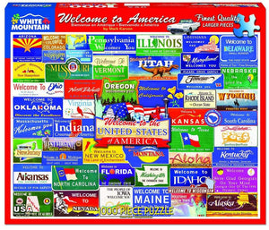 Welcome to America 1000pc Puzzle