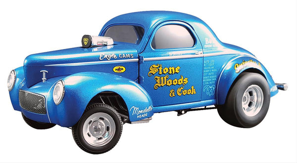 "1/18 1941 Willys Gasser ""Stone Woods and Cook"" Limited Edition"