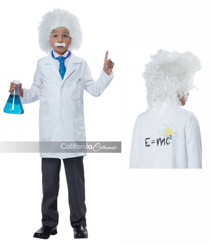 Albert Einstein / Physicist child costume by California Costumes #00297 at Buffalo Breath Costumes