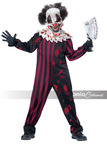 Killer Clown costume in a child size