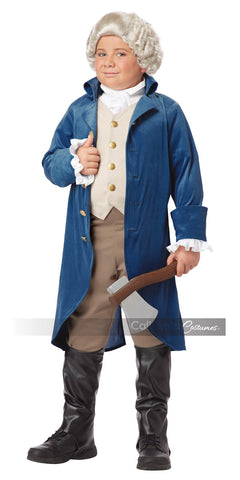 George Washington colonial child costume by California Costumes #00429 at Buffalo Breath Costumes
