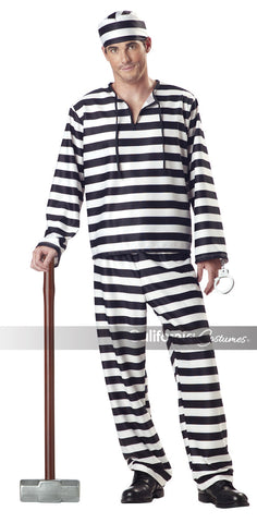 Jailbird costume by California Costumes #00801 at Buffalo Breath Costumes