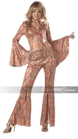 Discolicious 70's woman costume by California Costumes #00903 at Buffalo Breath Costumes