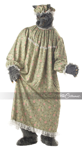 Wolf Granny costume by California Costumes #01047 at Buffalo Breath Costumes in San Diego
