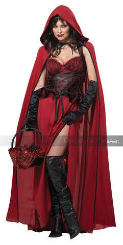 Dark Red Riding Hood costume by California Costumes #01185