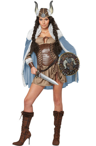 Viking Vixen costume