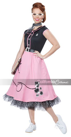 50's Sweetheart costume by California Costumes #01391 at Buffalo Breath Costumes