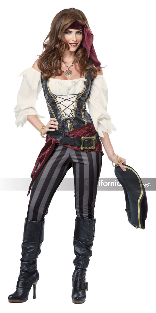 Brazen Buccaneer pirate costume by California Costumes #01393 at Buffalo Breath Costumes