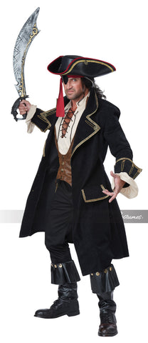 Deluxe Pirate Captain costume by California Costumes #01397 at Buffalo Breath Costumes