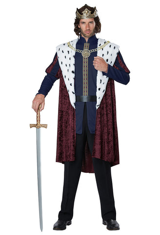 Royal Storybook King costume at Buffalo Breath Costumes