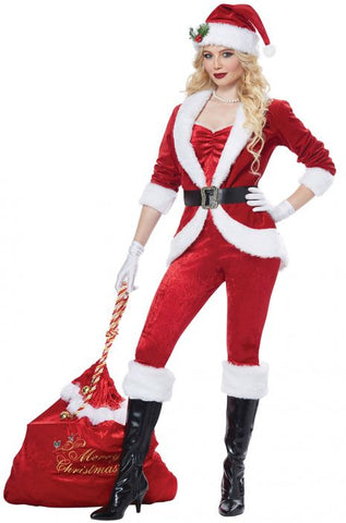 Sassy Santa christmas costume by California Costumes #01492
