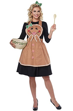 Gingerbread Apron by California Costumes #01497